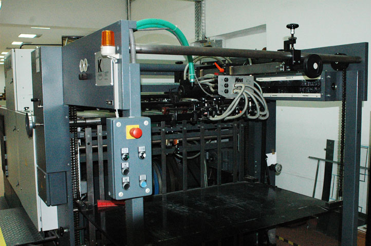 KAMA  TS 102 Die-cutting machine 2001