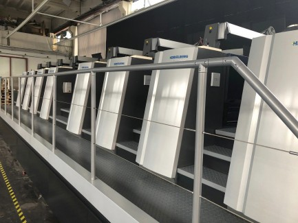 XL 106- 8-P UV LED Heidelberg