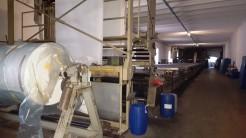 Flatbed textil printing machine