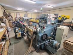 La Meccanica machine for reels manufacturing