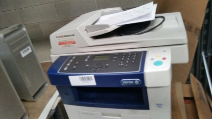 1#2602 B & W Xerox Phaser 3600N Printer, serial number NEA349699. Xerox