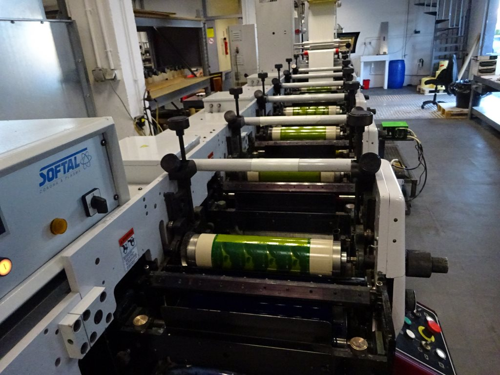 Heidelberg And Polygraph Mark Andy Lp 3330 Flexo Label