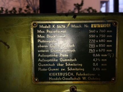KIEKEBUSCH Heidelberg