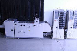 Horizon Twin Tower MC80 with SPF20 and FC20 Bookletmaker and Trimmer
