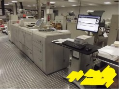 Canon imagePRESS 1125 Print Line Complete With Computer LCD Monitor Keyboard