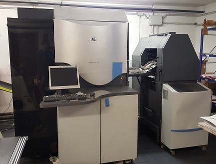 Stampante digitale HP Indigo press 3000 upgrade 3050 Hewlett Packard