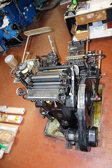 Heidelberg Stella 25x35 (31#3985) Heidelberg