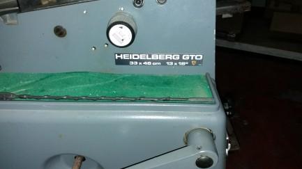 GTO 33X46 Heidelberg