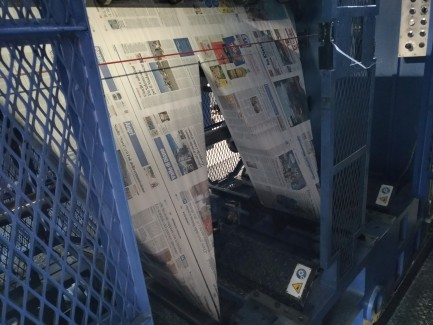 Newspaper web press Cerutti
