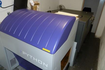 CT Laser Platemaker Python CTP plus Workstation Python