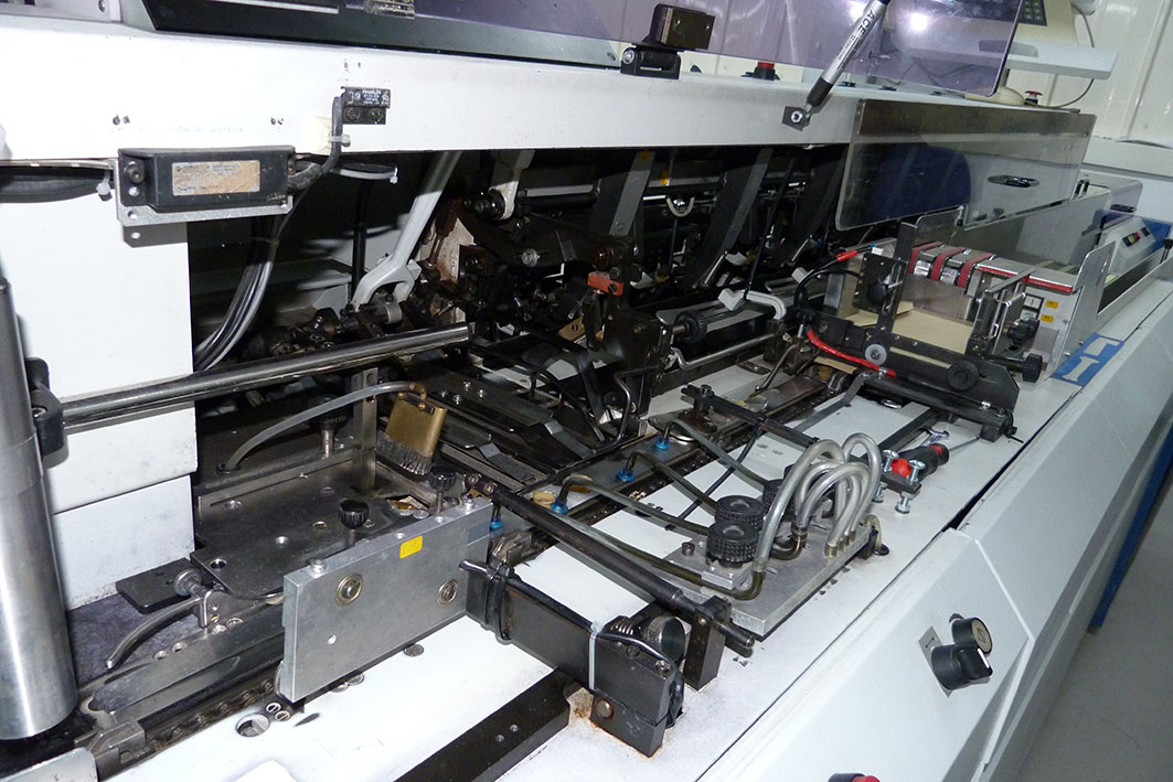 Muller Martini Mailing Inserter 6 Station Mailcrafter with