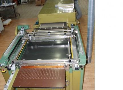 screenprint with dryer Svecia