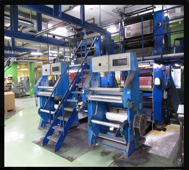 Kammann Ohz albert gws 630 rebuilt offset presses web fed