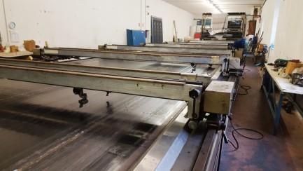 Flatbed textil printing machine Reggiani