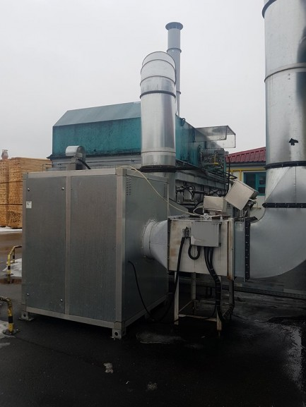 Regenerative Thermal oxidizer Innovaterm