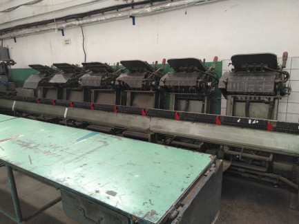 Saddle stitcher  235 - 5 Muller Martini